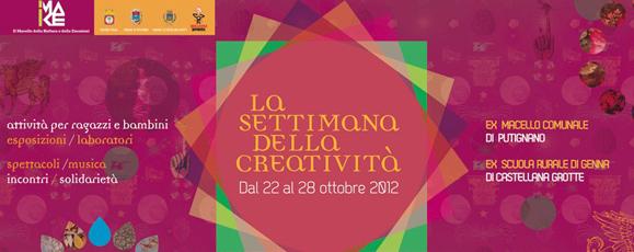 settimana della creatività